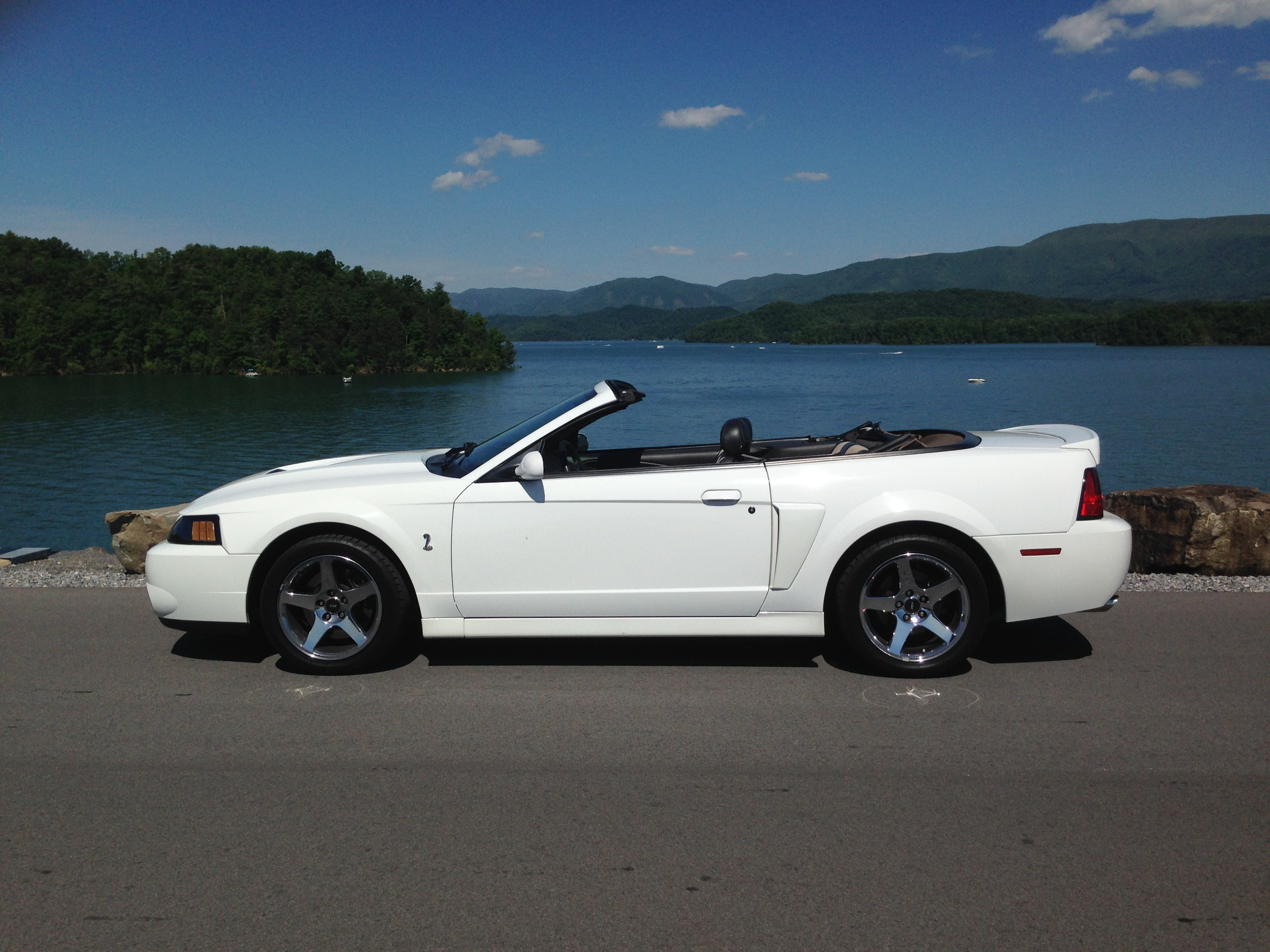2003 Ford Mustang Cobra Convertible at South Holston Dam