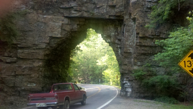 Backbone Rock Tunnel - 05/30/11