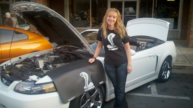 Sherri and Cobra Fender Mat