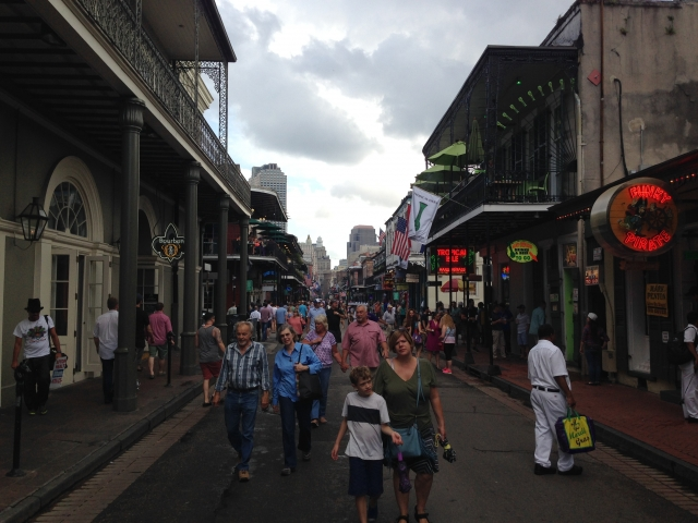 Joe Pearce Visits Bourbon Street May 30 2015