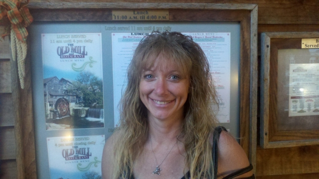 Sherri Pearce At The Old Mill Pigeon Forge, TN