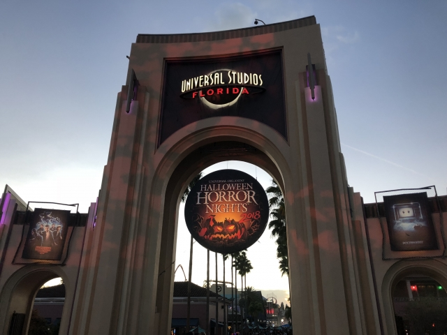 Halloween Horror Nights Universal Studios Orlando, FL - Joe Pearce