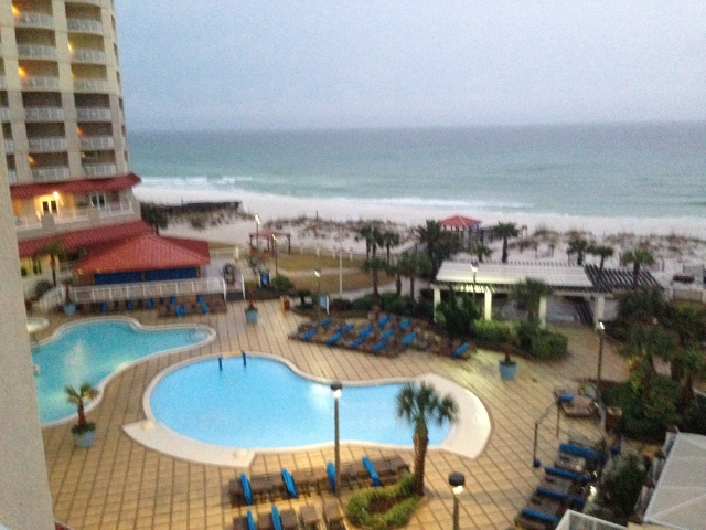 Pensacola Beach - View From Hotel Room