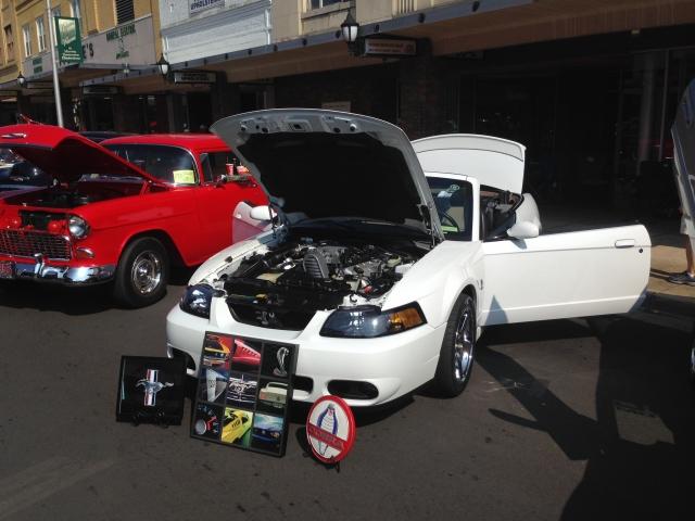 2003 Mustang SVT Cobra - 2014 Elizabethton/Carter County Car Club Car Show